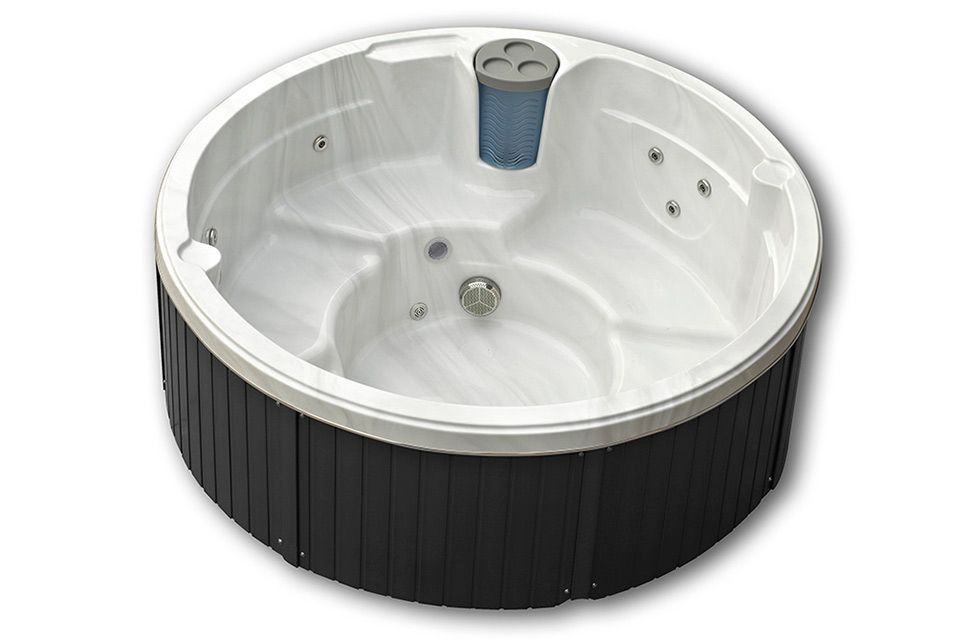 Whirlpool Outdoor rund - Malta Luxury